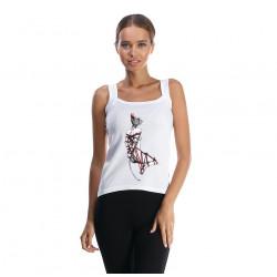 Undershirt Sphynx cat shibari